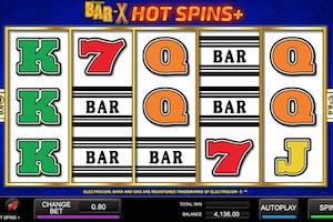 bar x hot spins