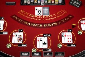 blackjack privee