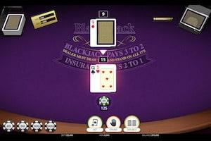 blackjack single hand vip