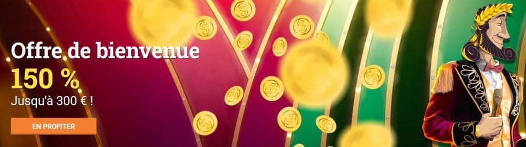 Bonus de Cresus Casino