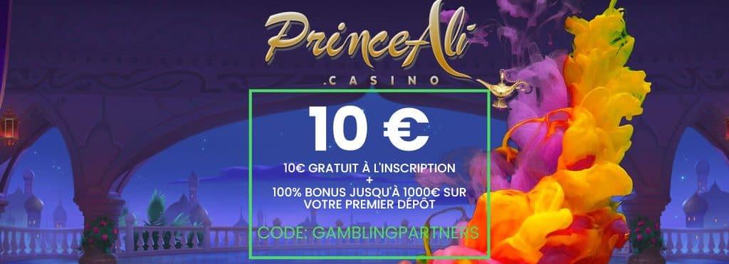 Bonus Prince Ali 2021