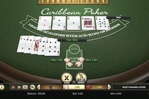 caribbean poker betsoft