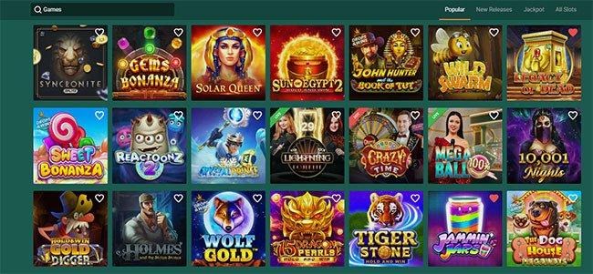 Machine à sous Cresus Casino