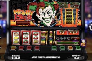 mighty joker arcade