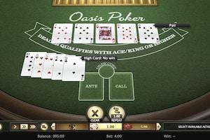 oasis poker betsoft