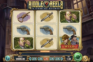 riddle reels a case of riches