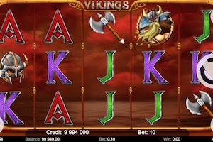 vikings kajot games