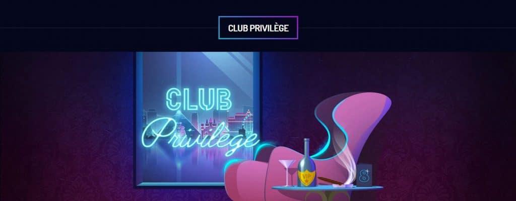 Devenir VIP sur le casino Lucky8