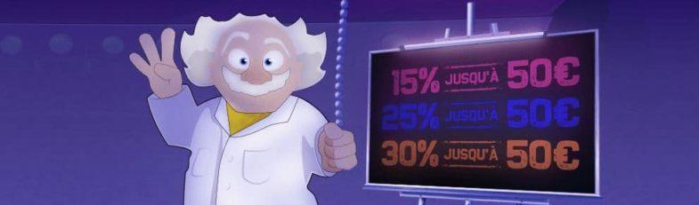 Promotions et bonus du casino Madnix