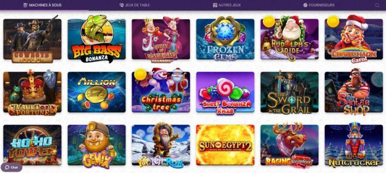 Les machines à sous chez Madnix Casino