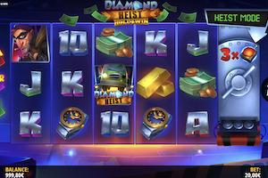 diamond heist hold and win